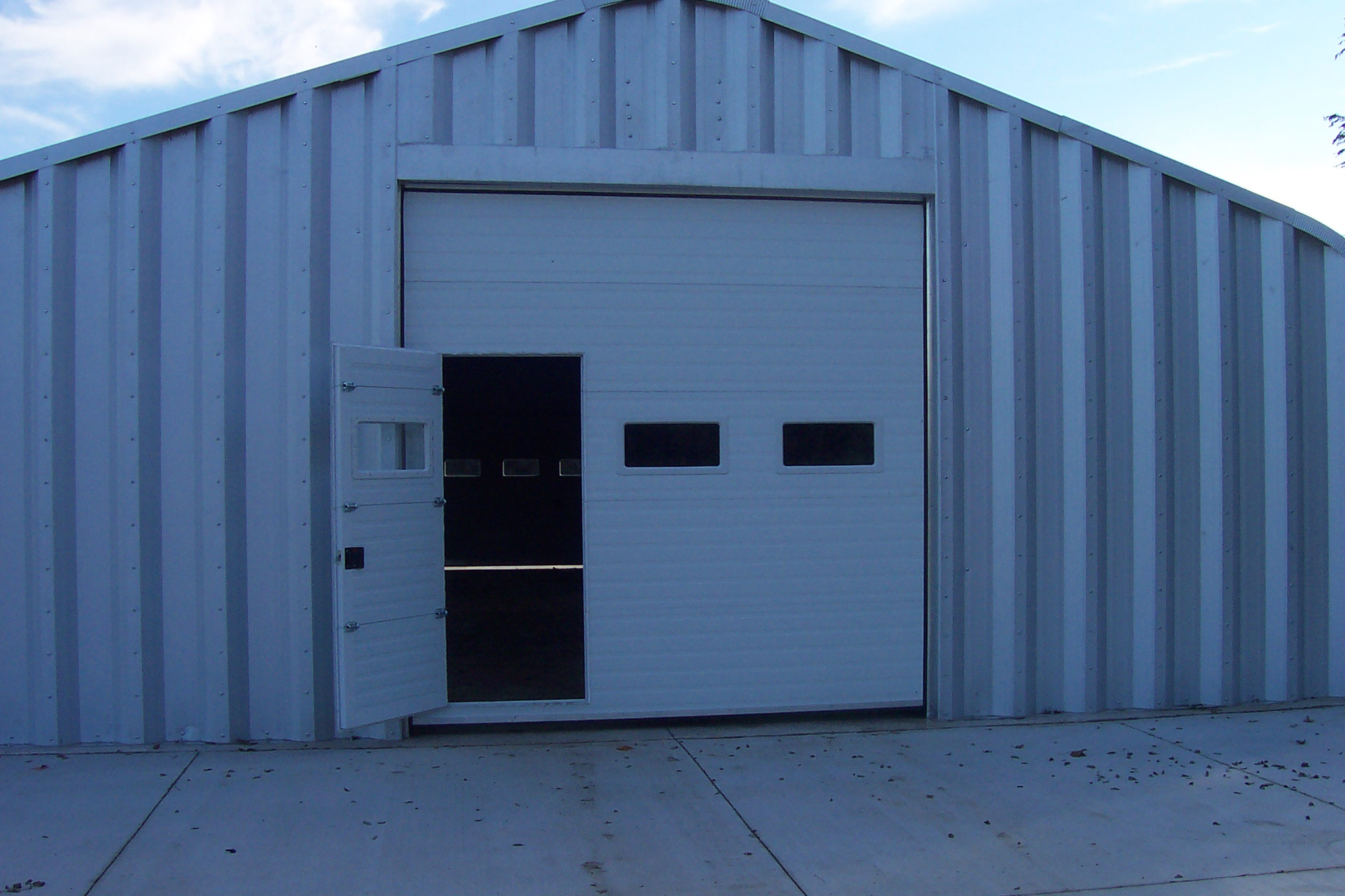 DGH Doors Quonset Walk Through Door
