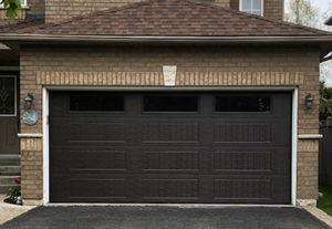 DGH Doors Wayne Dalton Garage Door Steel Brown